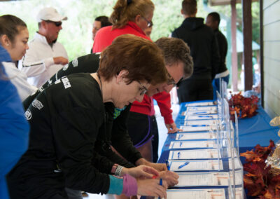 Silent Auction at the 2018 Walk/Run