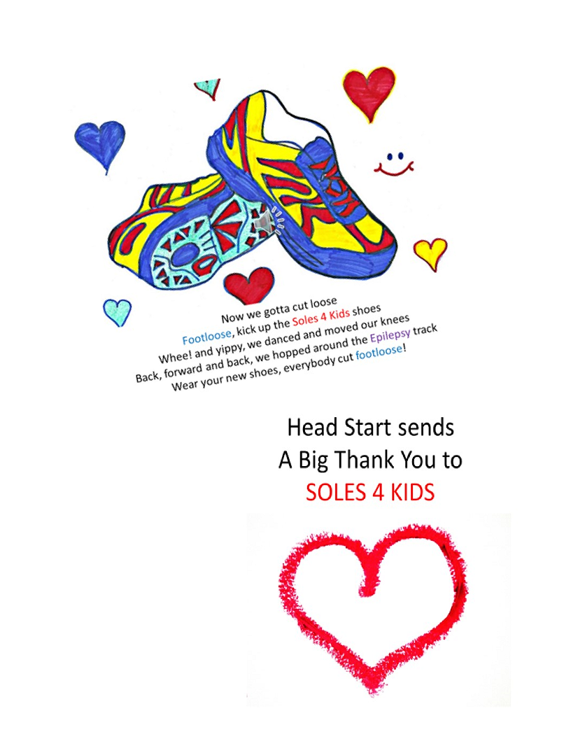 Flyer for Soles 4 Kids - 2020