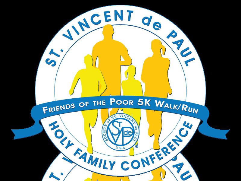 Friends of the Poor 5K Logo